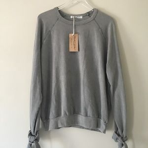 [Project Social T] Oversized Distressed Crewneck